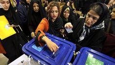 Early vote count in Iran today