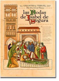 Cartel Las Bodas de Isabel de Segura 2014