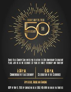 Anniversary Party Fireworks event flyer poster template