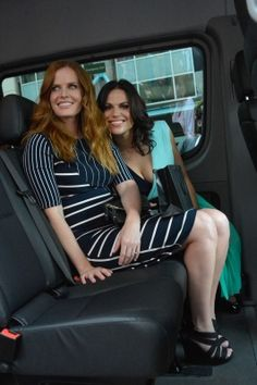 #LanaParrilla  & #BexMader leaving the 2015 San Diego Comic Con