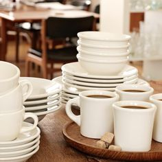 Buffalo China Dinnerware Collection #williamssonoma Expensive at over $700 a set, wonder if they break easily.