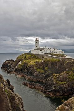 Lighthouse in county Donegal,  Ireland