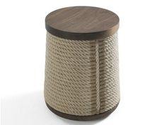 wooden stool and hemp rope ROPE - Riva 1920