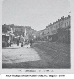 Η οδός Αθηνάς το 1903 Old Photos, Vintage Photos, Greeks, Back In The Day, Athens, The Neighbourhood, The Past, Old Things, Times