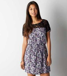 AEO Lacy Cinched Dress