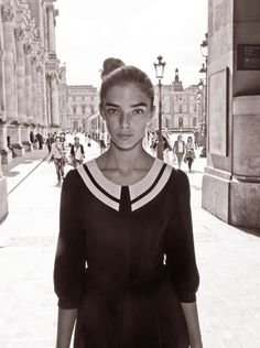 French young woman
