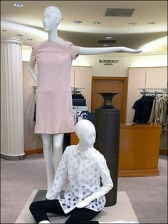 Underhanded Burberry® Branding – Fixtures Close Up Visual Merchandising, Entrance, Burberry, Ruffle Blouse, Branding, Retail, Store, Women, Fashion