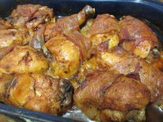 Tandoori Chicken, Bacon, Spices, Food And Drink, Meat, Ethnic Recipes, Game, Food, Spice