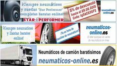 Código de descuento de Neumáticos para España. 5% descuento para neumáticos de coches y ruedas completas