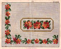 Berlin woolwork Roses