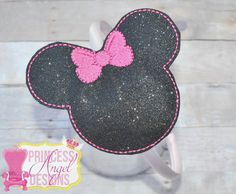 Minnie Mouse Ears. Ooo too cute of a headband. Available at... https://www.facebook.com/pg/TheBowfairies/photos/?tab=album&album_id=10154595457728920