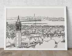 Cool illustration of Berkeley! by GmbH