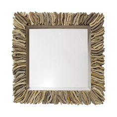 Palecek Driftwood Shadow Box with Mirror http://www.plumgoose.com/palecek-driftwood-shadow-box-with-mirror.html