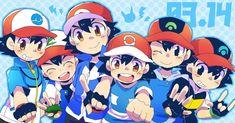 Satoshii❤ Pokemon Store, Pokemon Manga, Pokemon Pocket, Pokemon People, Ash Pokemon, Pokemon Pins, Pokemon Comics, Cute Pokemon, Pikachu
