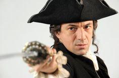 Nicolas le Floch - I love his sword fighting.   C'est un vrai héros.
