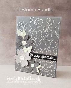 Lolly & Sand: Stampin' Up! In Bloom Bundle | Birthday Card | Positive Inkers Global Design Team Blog Hop