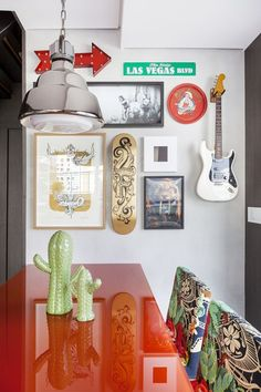 Dicas de decoração moderna e retrô para homens - De volta ao retrô