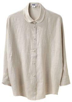 ACNE | Joy Linen Shirt | Shop at La Garçonne
