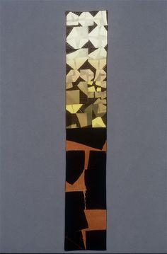 CANYON, silk Shibori/Tie-Dye, 1997 // Ana Lisa Hedstrom