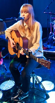 Lucy Rose - one of my favourite singers! And her concert was the best I've ever been to! ♡