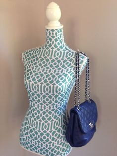 d76b4c9b83fdd h Chanel Trianon Cross Body Bag Messanger Tote Dark Blue Cross Body