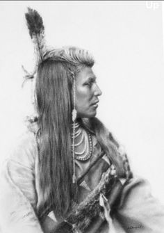 Shoshone - by Stephanie Campos - Charcoal portraits Native American Pictures, Native American Beauty, Native American Tribes, American Indian Art, Native American History, American Indians, Navajo, Native Indian, Indian Male