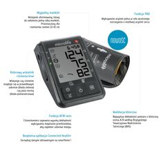 Ciśnieniomierz automatyczny Mictrolife BT Connect z funkcją Afib Bluetooth, Stan, Connection, Phone, Telephone, Mobile Phones