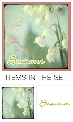 """Fall In Love With Summer!"" by carla-altum ❤ liked on Polyvore featuring art"