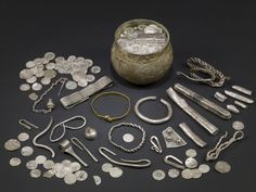 The Vale of York Hoard, a major trove of Viking artifacts discovered in 2007 in North Yorkshire. The hoard—likely buried around 920 A.D.—included 617 silver coins, a Frankish silver cup and Viking jewelry. (The British Museum) To Protect Its Rare Artifacts, the U.K. Proposes Revised Definition of 'Treasure' | Smart News | Smithsonian Magazine