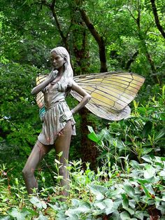 fairy statue | Fairy Statue 1 | Flickr - Photo Sharing!
