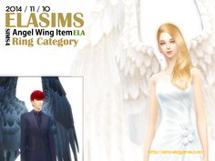 Sims 4 CC's - The Best: Wings by MaySims