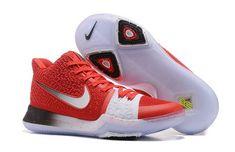 super popular a8b1b 57bb4 New Released Nike Kyrie 3 Red White Black PE Fast Shipping Lastest –  Michael Jordan Shoes