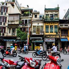 Nothing captures the moody, magical soul of Hanoi like a stroll around Hoan Kiem Lake, when mist shrouds the surface and fabled giant turtles patrol the depths. The adjacent Old Quarter is a joyful chaos of street-food vendors and honking motorbikes swerving past crumbling façades. Photo courtesy of nodestinations on Instagram.