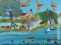 """http://www.wishpond.com/fbvc/477061?vote_option_id=61589 Amigos votem na minha tela #718 """"ALDEIA DE PESCADOR"""" e me ajudem a realizar um sonho de arte e vida, É SÓ CLICAR NO LINK ACIMA E VOTAR fico feliz e muito agradecida, ABRAÇOS!!!  Musée international d'art naïf de Magog Le seul musée canadien dédié exclusivement à l'art naïf. Entrée gratuite!"""
