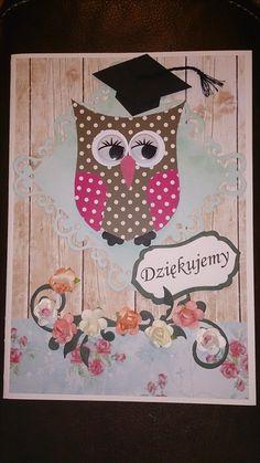 Card for teacher. Kartka dla nauczyciela.
