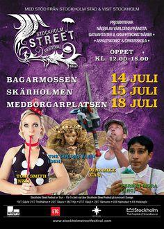 Festival Programme for Stockholm Street Festival 2018