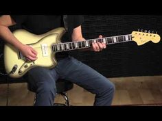 Squier Vintage Modified Baritone Jazzmaster - YouTube