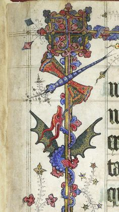.@BLMedieval my favorite is the GORGEOUS dragon and dragon-fly from Lovell Lectionary c. 1400 http://britishlibrary.typepad.co.uk/digitisedmanuscripts/2014/08/bugs-in-books.html#sthash.hTOqM7MB.dpuf …