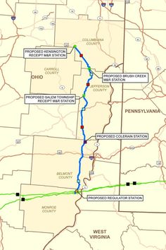 Spectra Energy's OPEN Pipeline in Ohio has been approved (Dec 2014)
