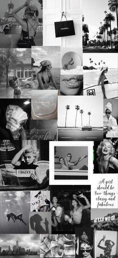 Aesthetic black&white wallpaper