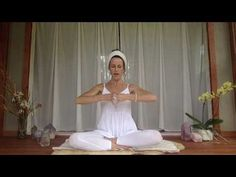 KUNDALINI BREATH PRACTICE FOR STRESSFUL TIMES Try this pranayama when feeling stressed, imbalanced or unstable. BEGIN: Tune in with Ong Namo Guru Dev Namo 3x. Sit comfortably, lengthen the spine. MUDRA: Raise the arms with the elbows bent until the hands meet at the level of the heart in front of the chest. The forearm