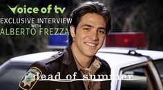 Voice Of TV's Exclusive Interview With Dead Of Summer's Alberto Frezza Dead Of Summer, Abc Family, The Voice, Interview, Tv, Television Set, Television