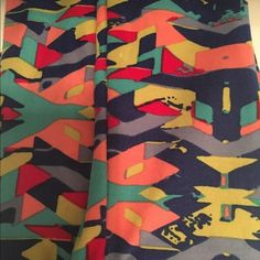 5e3226beed39f9 LuLaRoe OS Leggings Fun pattern. Worn once and washed / air dried per  LuLaRoe standards