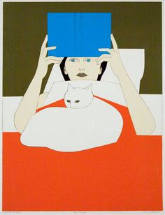 Will Barnet, 'Woman Reading'.
