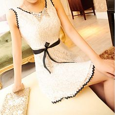 Attractive Lady Party Dress – USD $ 21.99