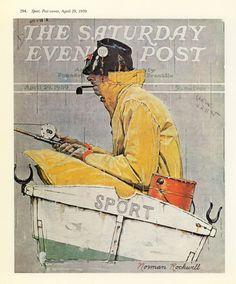 print Norman Rockwell Sport Saturday Evening Post