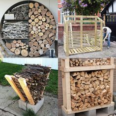 15 best indoor & outdoor DIY firewood rack & storage ideas, such as easy DIY wood rack, creative log holders, simple firewood shed, & more! - A Piece of Rainbow #farmhouse #farmhousestyle farmhouse #livingroom living room ideas, family room, fireplace #diy #homedecor #homedecorideas organizing, organization #organize #storage #backyard #winter #fall fall, winter, backyard, pallet #pallet #woodworking Christmas Planters, Fall Planters, Christmas Diy, Xmas, Holiday, Winter Planter, Pine Cone Decorations, Pine Cone Crafts, Diy Greenhouse