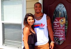 who is dating Dak Prescott? Dak Prescott Girlfriend, Best Quarterback, Most Popular Sports, New Girlfriend, Professional Football, Three Kids, Instagram Models, American Football, Football Players