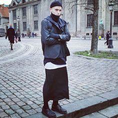 Copenhagen neo-gothic street style.
