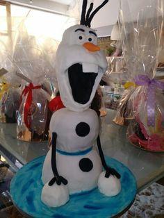 Olaf cake by elina
